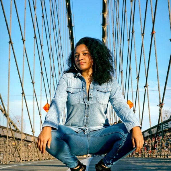 amena, brooklyn bridge, nyc (2016)